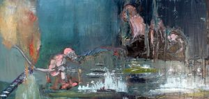 Choose your Enemies, 94X180 cm., oil on canvas, 2013