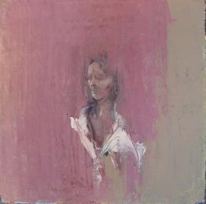 Self Portrait as Snow-White, o/c, 30X30 cm., 2008