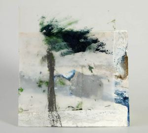 tree, river, 17.5X16.5 cm.,-web
